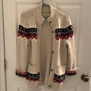 Abercrombie kids girl sweater.